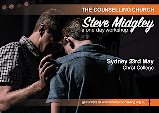 The Counselling Church  - Sydney one day workshop with Steve Midgley tickets