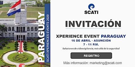 SCATI Xperience Event Paraguay,16 de abril entradas