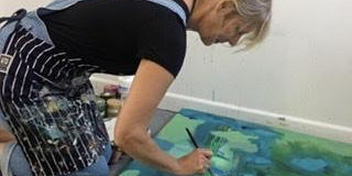 Three day Contemporary Abstract painting workshop with Annie Luke Turner