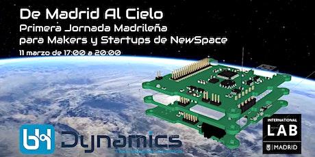 Primera Jornada Madrileña para Makers y Startups de NewSpace entradas