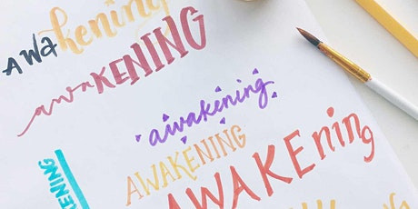 Calligraphy Lettering Your Way to Joy, Gratitude and Mindfulness [Toronto Calligraphy Workshop] tickets