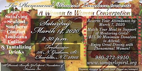 The Phenomenal Women's Luncheon  tickets