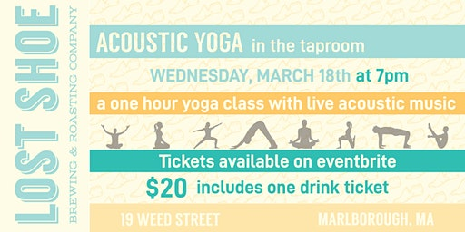 Acoustic Yoga in the Taproom