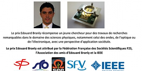 Remise du prix Edouard Branly 2019 billets