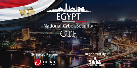 Egypt National Cybersecurity CTF 2020 tickets