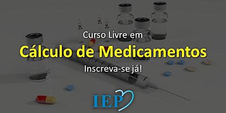 Curso Livre em Cálculo de Medicamentos ingressos