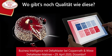 """DeltaMaster-Matinee """"Reporting, Analyse und Planung"""" Tickets"""