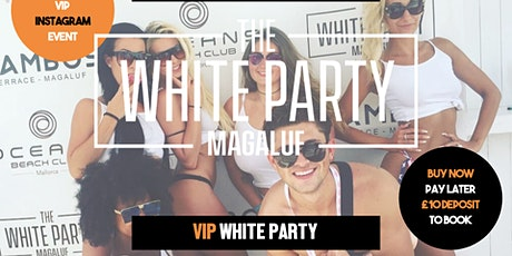 White Party Magaluf 2020 tickets
