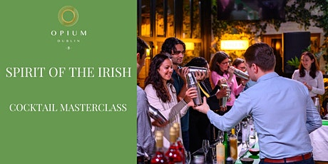 Spirit Of The Irish Cocktail Masterclass tickets