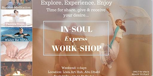 In-Soul Express workshop - 7 Desert Retreats, Liwa, Abu Dhabi