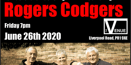 Rogers Codgers plus support from Two Birds and a Guitar tickets