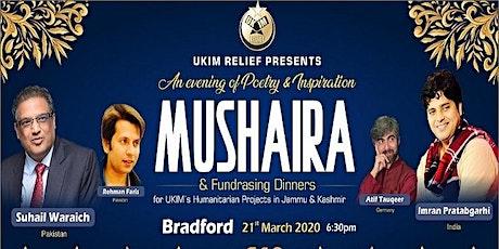 Mushaira & Fundrasing Dinner, Bradford tickets