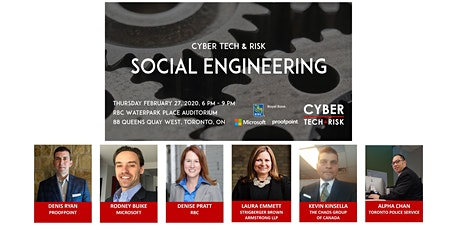 Cyber Tech & Risk - Social Engineering tickets
