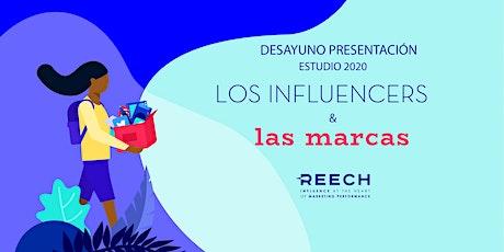 Presentación del Estudio los Influencers y las Marcas por REECH entradas