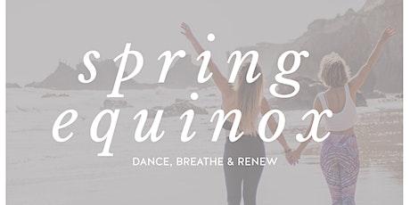 SPRING EQUINOX | DANCE, BREATHE & RENEW MIT ALIZZ & IRINA Tickets