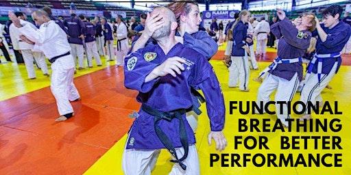 Functional Breathing for performance for WJJF Senior grades