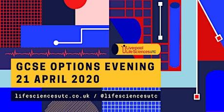 Liverpool Life Sciences UTC - GCSE options evening tickets
