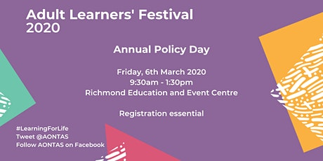 Policy Day - Adult Learners' Festival tickets