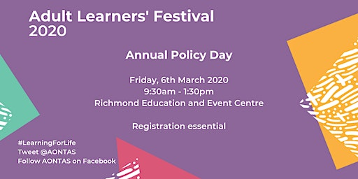 Policy Day - Adult Learners' Festival