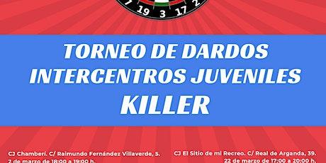 Torneo de dardos KILLER entradas