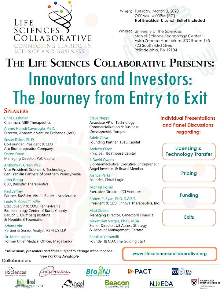 Innovators and Investors: The Journey from Entry to Exit image
