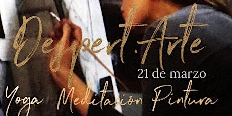 Despert.Arte: Yoga, Meditación y Pintura entradas