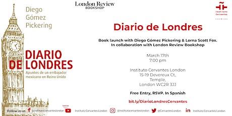 Book Launch  - Diario de Londres tickets