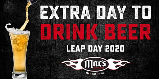 Leap Day - Extra Day to Drink Beer and Live Music!