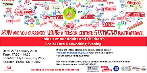 Social Care Networking  Evening, Social Workers and Occupational Therapists