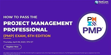 Free Online Course - How to Pass the Project Management Professional (PMP®) Exam tickets