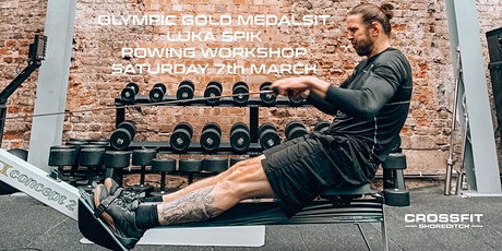 Olympic Gold Medalist Luka Spik Rowing Workshop tickets