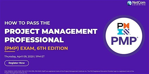 Webinar - How to Pass the Project Management Professional (PMP®) Exam