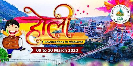 Holi Celebration in Rishikesh