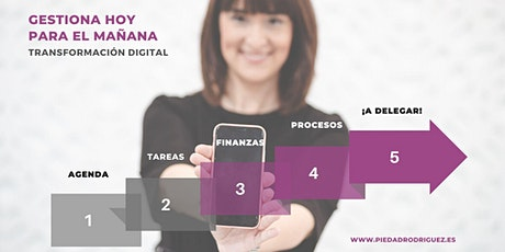 """Conferencia """"GESTIONA HOY PARA EL MAÑANA"""" - ExpoMarcaMujer 28 de marzo 2020 entradas"""