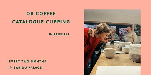 OR Coffee Catalogue Cupping