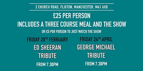 George Michael Tribute act tickets
