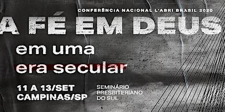 Conferência Nacional L'Abri Brasil 2020 ingressos