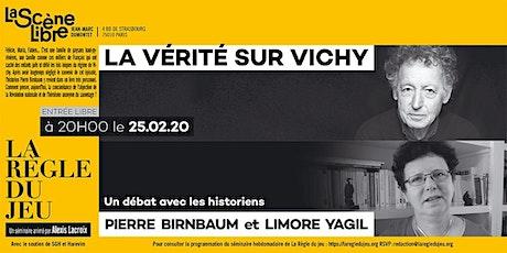 La vérité sur Vichy Tickets