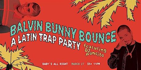 Balvin Bunny Bounce tickets