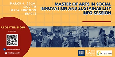 Master of Arts in Social Innovation and Sustainabi