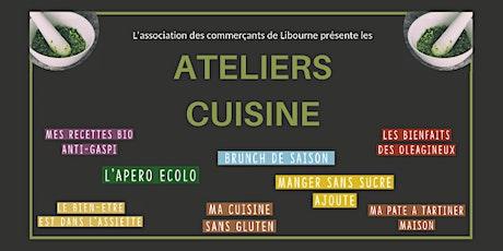 Cours de cuisine Gratuits - Association des commerçants Libourne le Verdet billets