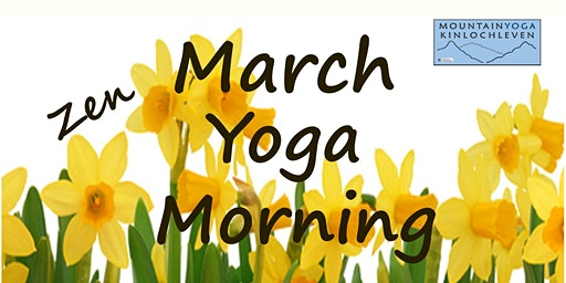 March Zen Yoga Morning