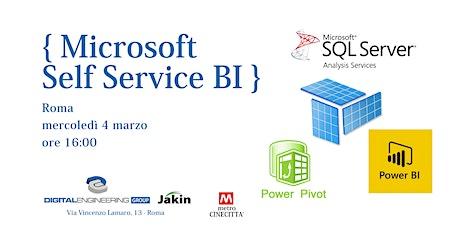 Workshop Microsoft Self Service BI biglietti