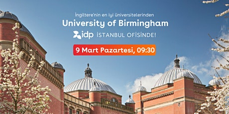 University of Birmingham ile İstanbul'da ücretsiz buluşma tickets