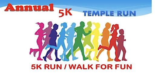 5K Temple Run