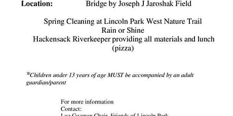 Lincoln Park West Shoreline Clean Up tickets
