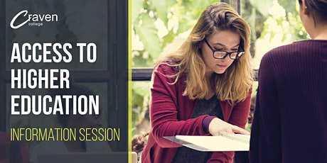 19+ FAST TRACK TO UNIVERSITY (ACCESS TO HE) INFORMATION SESSION tickets