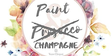 Veuve Clicquot Champagne & Paint tickets