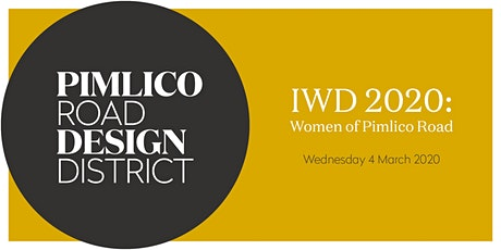 IWD 2020: Women of Pimlico Road tickets