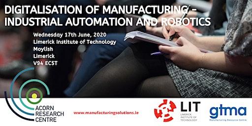 Conference on Digitalisation of Manufacturing